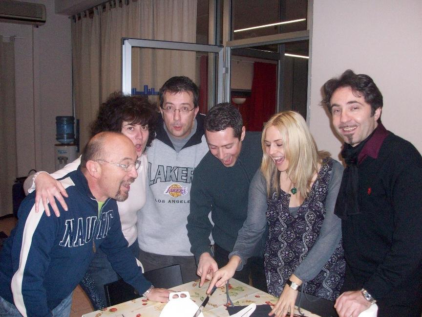 La Signora Maestra Stefania Martin  e il Maestro Claudio Napolitano